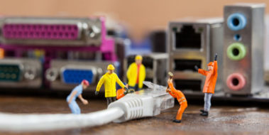find a professional network cabling contractor